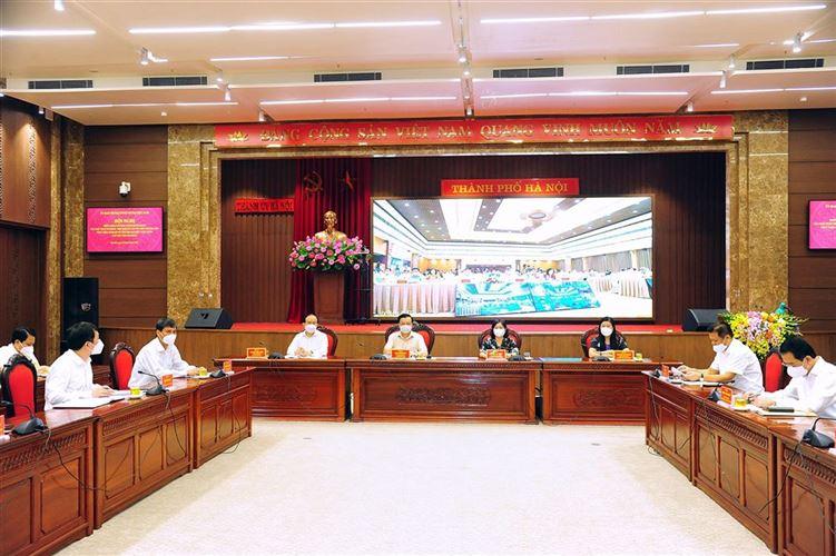 Thành ủy Hà Nội triển khai có hiệu quả Chương trình hành động thực hiện Nghị quyết Đại hội đại biểu toàn quốc lần thứ XIII của Đảng
