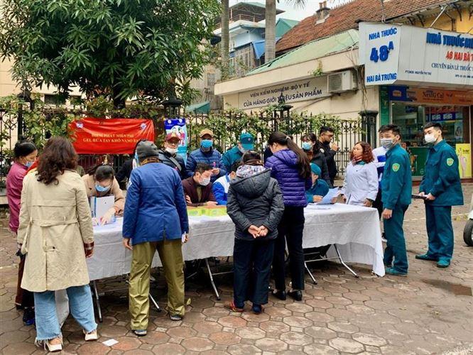 Quận Hoàn Kiếm tích cực tổ chức các hoạt động tuyên truyền phòng, chống dịch bệnh viêm đường hô hấp cấp do virut Corona gây ra