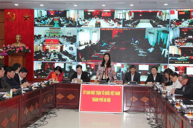 Ủy ban Trung ương MTTQ Việt Nam triển khai nhiệm vụ trọng tâm công tác Mặt trận năm 2020