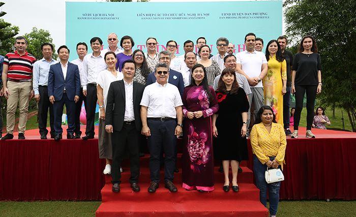 Hà Nội: Đậm đà tình bạn quốc tế trong Hành trình hữu nghị 2021