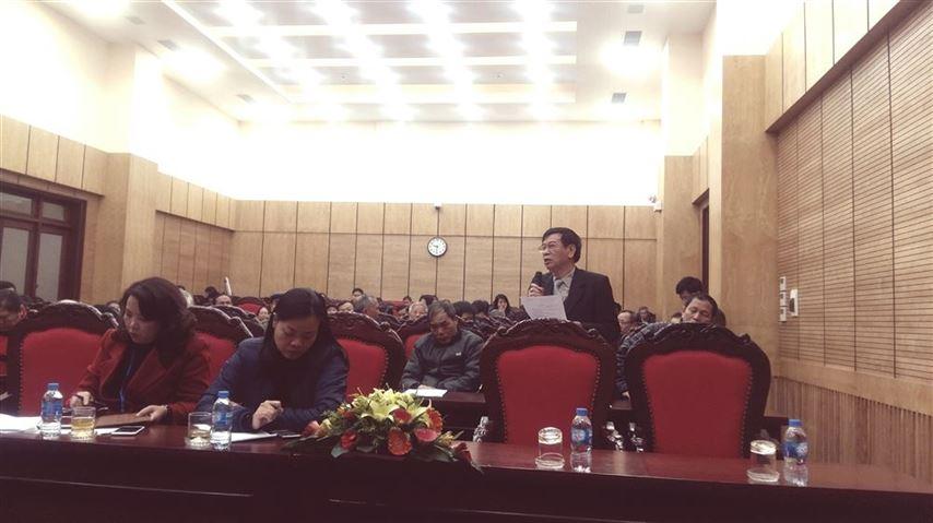 Hội nghị tiếp xúc cử tri quận Ba Đình sau kỳ họp thứ 7, HĐND TP nhiệm kỳ 2016-2021