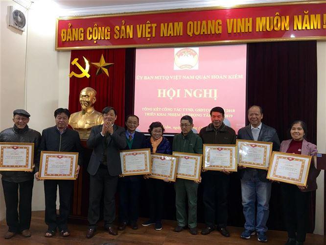 Quận Hoàn Kiếm tổng kết công tác Thanh tra nhân dân – Giám sát đầu tư của cộng đồng năm 2018