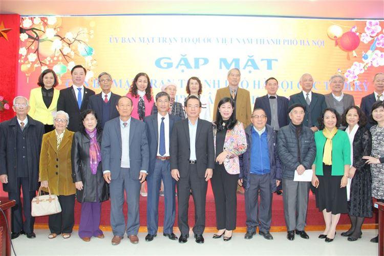 Ủy ban MTTQ Việt Nam TP Hà Nội gặp mặt cán bộ hưu trí  nhân dịp Tết Canh Tý 2020
