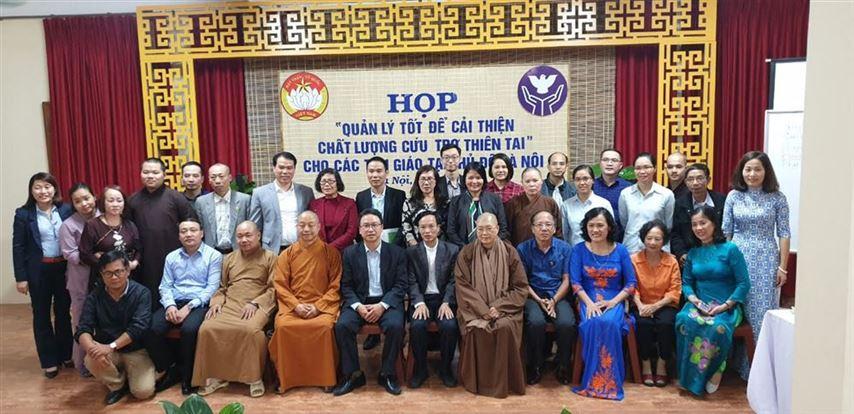 Cải thiện chất lượng cứu trợ thiên tai cho các tôn giáo tại Thủ đô Hà Nội