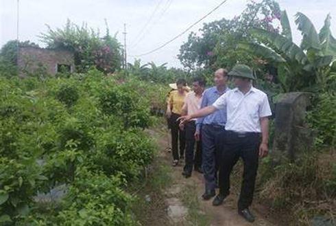 Gia Lâm tiếp đoàn cán bộ xã Gia Lâm, huyện Lâm Hà, tỉnh Lâm Đồng