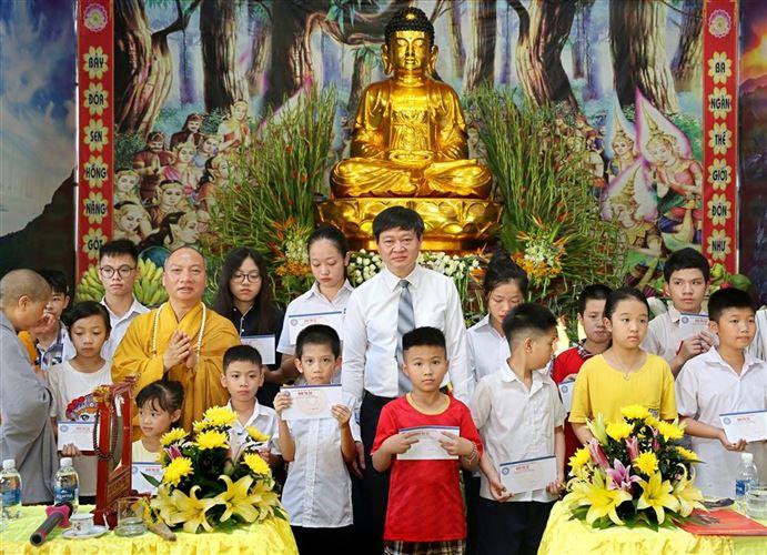 Quận Đống Đa tổ chức lễ Phật lịch 2563 - Dương lịch 2019 tại chùa Bộc, quận Đống Đa, thành phố Hà Nội.