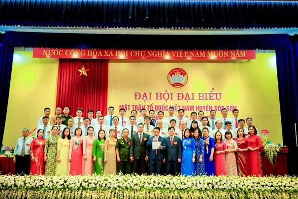 Huyện Sóc Sơn tổ chức thành công Đại hội đại biểu MTTQ Việt Nam nhiệm kỳ 2019-2024