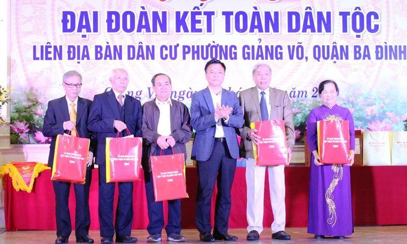 Ngày hội Đại đoàn kết tại phường Giảng Võ, quận Ba Đình