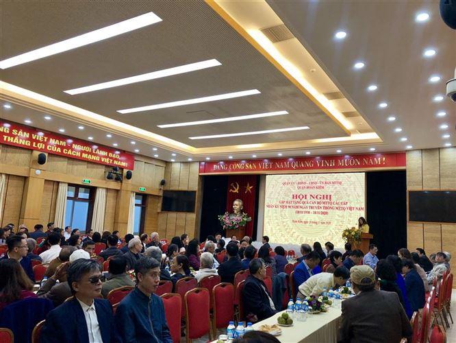 Quận Hoàn Kiếm tổ chức gặp mặt, tặng quà  các thế hệ cán bộ chủ chốt MTTQ quận, phường nhân kỷ niệm 90 năm  ngày truyền thống MTTQ Việt Nam 18/11/1930 – 18/11/2020