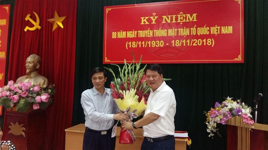 Ủy ban MTTQ Việt Nam quận Ba Đình gặp mặt nhân ngày truyền thống MTTQ Việt Nam