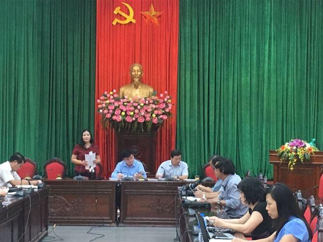 Họp báo thông tin kết quả cuộc vận động Người Việt Nam ưu tiên dùng hàng Việt Nam 9 tháng đầu năm 2018