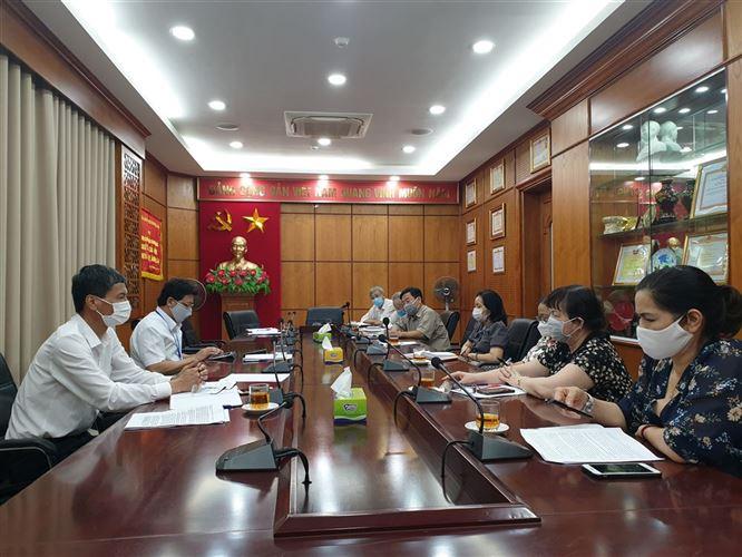 Hội đồng tư vấn Tổng hợp và phân tích Dư luận xã hội Ủy ban MTTQ Việt Nam thành phố Hà Nội tổ chức Hội nghị sơ kết hoạt động 6 tháng đầu năm 2021