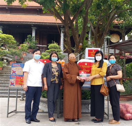 Ủy ban MTTQ Việt Nam Thành phố kiểm tra công tác phòng chống dịch COVID-19; thăm và động viên các chức sắc Phật giáo nhân dịp Lễ Vu Lan năm 2021