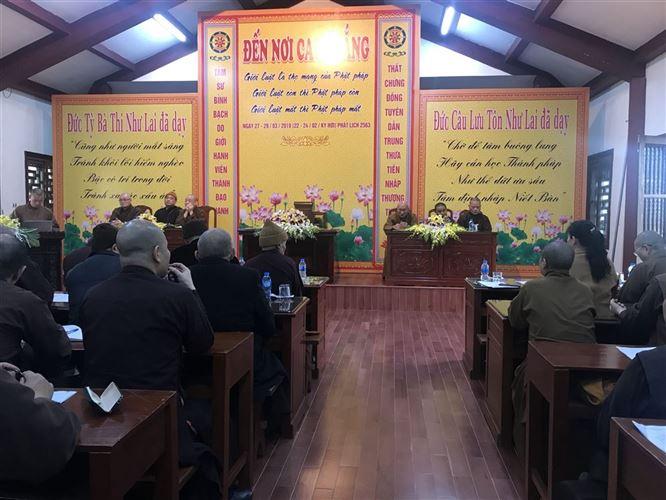 Phật giáo Hà Nội tổ chức Hội nghị triển khai công tác tổ chức Lễ Phật đản - An cư năm 2019