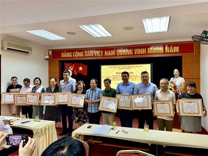 """Quận Hoàn Kiếm tổ chức đánh giá kết quả triển khai đợt vận động ủng hộ quỹ """"Vì Biển, Đảo Việt Nam"""""""