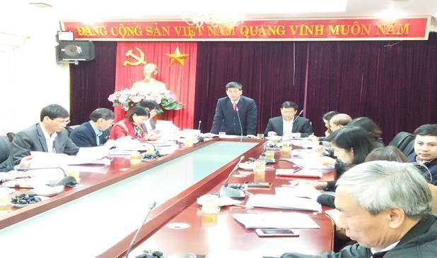 Ủy ban MTTQ Việt Nam TP Hà Nội làm việc với quận Cầu Giấy về công tác chuẩn bị Đại hội MTTQ Việt Nam quận nhiệm kỳ 2019-2024