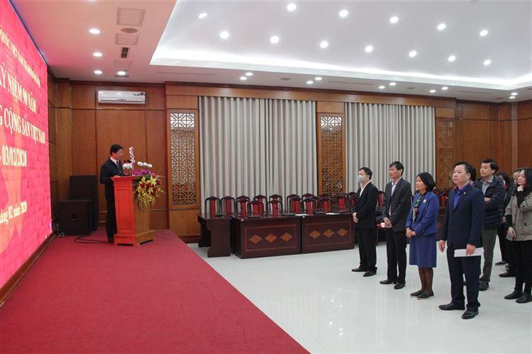 Ủy ban MTTQ Việt Nam TP tuyên truyền kỷ niệm 90 năm ngày thành lập Đảng cộng sản Việt Nam 3/2/1930– 3/2/2020