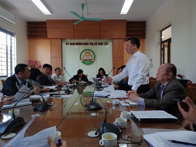Giám sát việc quản lý Nhà nước về đảm bảo an toàn thực phẩm tại thị xã Sơn Tây