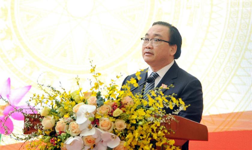 Thư chúc Tết Nguyên đán Canh Tý 2020 của Bí thư Thành ủy Hà Nội Hoàng Trung Hải