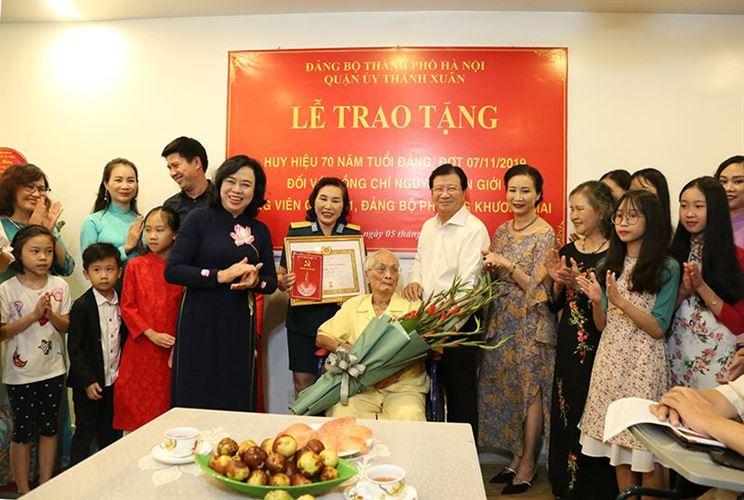 Xây dựng Đảng bộ Hà Nội trong sạch, vững mạnh – nhân tố quyết định mọi thắng lợi của Thủ đô