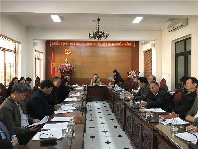 Hội nghị Ủy ban MTTQ Việt Nam quận Tây Hồ lần thứ 3, khóa VI, nhiệm kỳ 2019-2024.