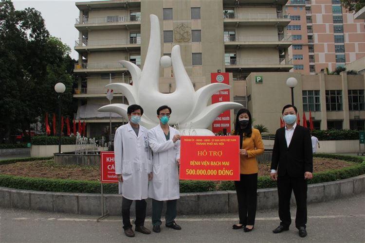 Lãnh đạo TP Hà Nội sẵn sàng đáp ứng nhu cầu, nguyện vọng của Bệnh viện Bạch Mai