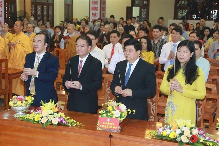 Trung ương Giáo hội Phật giáo Việt Nam tổ chức Đại lễ Phật đản