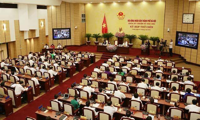 Khai mạc Kỳ họp thứ 9 HĐND TP Hà Nội khóa XV