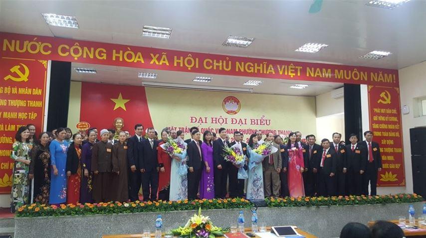 Đại hội MTTQ Việt Nam phường Thượng Thanh, quận Long Biên lần thứ IV, nhiệm kỳ (2019 – 2024)