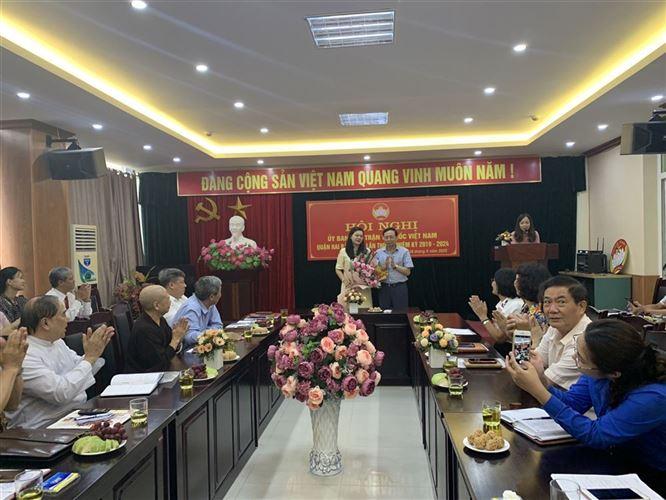 Ủy ban MTTQ quận Việt Nam quận Hai Bà Trưng tổ chức hội nghị lần thứ 5 khóa XV, nhiệm kỳ 2019-2024.