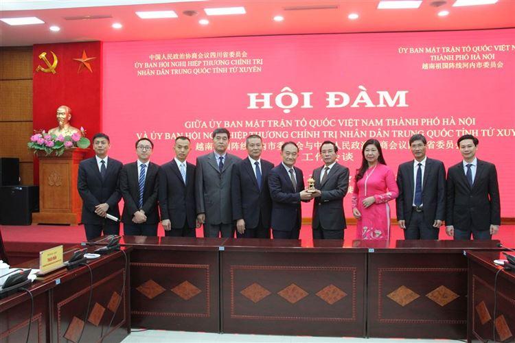 Ủy ban MTTQ Việt Nam thành phố Hà Nội tăng cường mở rộng quan hệ đối ngoại nhân dân