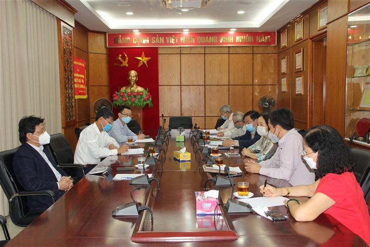 Hội đồng tư vấn Tổng hợp và phân tích Dư luận xã hội Ủy ban MTTQ Việt Nam thành phố Hà Nội tổ chức Hội nghị sơ kết hoạt động Quý III năm 2021
