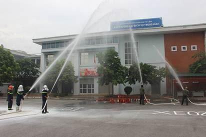 Tập huấn phòng cháy, chữa cháy và cứu nạn, cứu hộ cho các chợ  trên địa bàn quận Nam Từ Liêm
