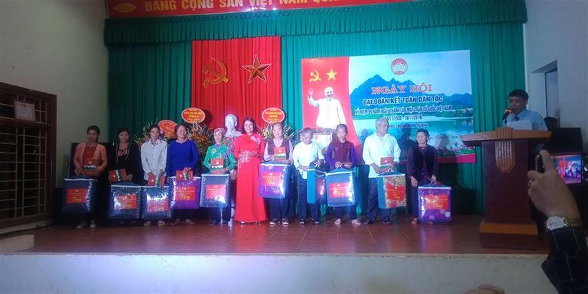 Ngày hội đại đoàn kết tại thôn Phú Lội, xã Minh Quang, huyện Ba Vì