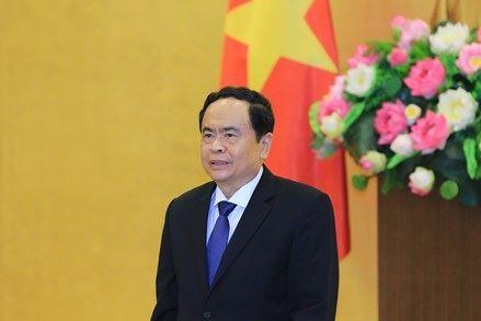 Thư chúc mừng năm mới của Chủ tịch Ủy ban Trung ương MTTQ Việt Nam Trần Thanh Mẫn