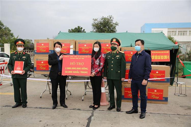 Thành phố Hà Nội hỗ trợ công tác phòng chống dịch Covid-19 của tỉnh Hải Dương