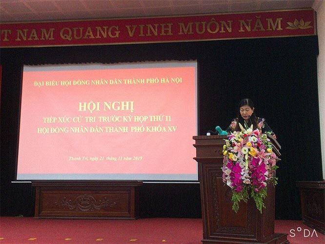Đại biểu HĐND thành phố Hà Nội tiếp xúc Cử tri huyện Thanh Trì trước kỳ họp thứ 11, khóa XV