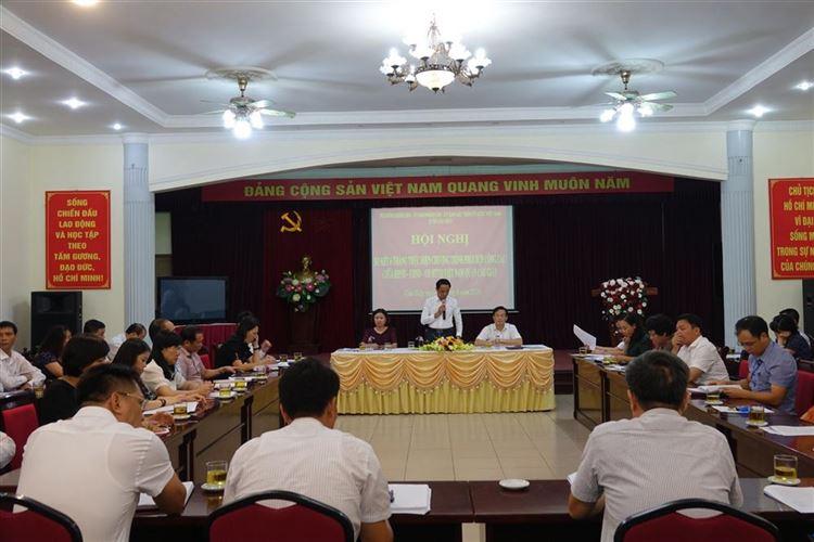 Sơ kết 6 tháng đầu năm 2020 chương trình phối hợp công tác giữa Thường trực HĐND - UBND-Uỷ ban MTTQ Việt Nam quận Cầu Giấy