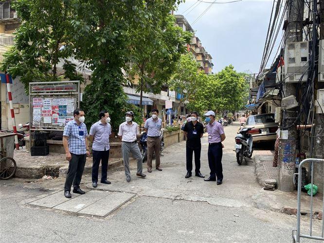 Ủy ban MTTQ Việt Nam quận Đống Đa giám sát việc thực hiện Chỉ thị 17/CT-UBND của UBND Thành phố