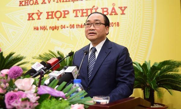 Khai mạc kỳ họp thứ 7 HĐND TP Hà Nội khóa XV