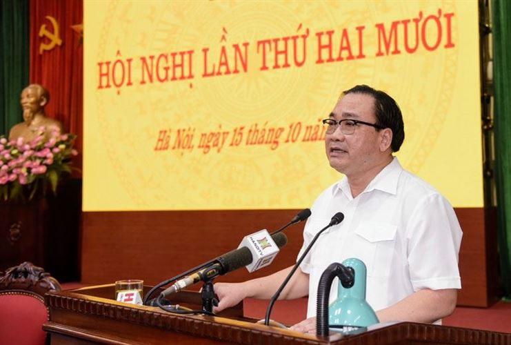 Chuẩn bị tốt nhất về mọi mặt để tổ chức thành công đại hội đảng các cấp và Đại hội XVII Đảng bộ TP Hà Nội (*)