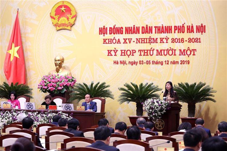 Ủy ban MTTQ Việt Nam TP Hà Nội kiến nghị nhiều vấn đề liên quan đến đời sống dân sinh tại kỳ họp thứ 11, HĐND TP Hà Nội khóa XV