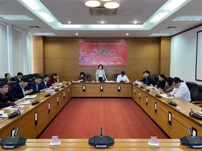 Hội nghị giao ban công tác MTTQ, dư luận xã hội tháng 1/2021