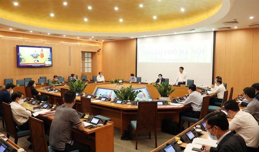 Thủ tướng Chính phủ: Hà Nội đã triển khai các chỉ đạo của Chính phủ sát thực tiễn và quyết liệt