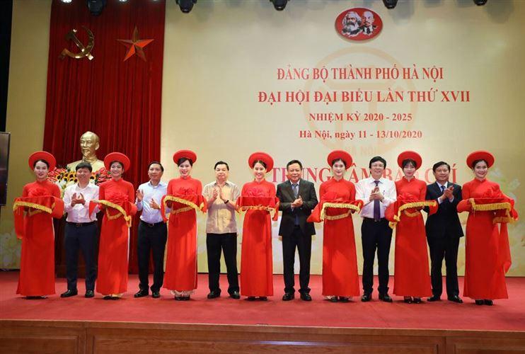 Khai Trương trung tâm báo chí Đại hội lần thứ XVII Đảng bộ thành phố Hà Nội