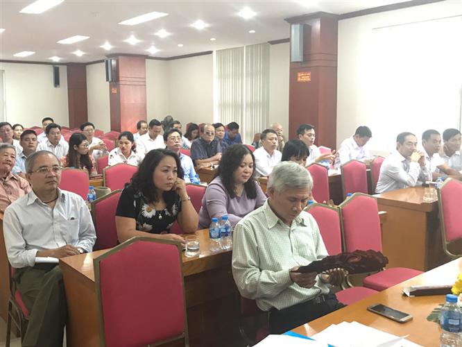 Ủy ban MTTQ Việt Nam Quận Hoàng Mai khóa III, nhiệm kỳ 2014-2019 tổ chức hội nghị lần thứ XV