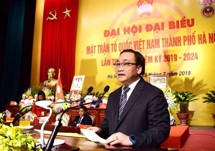 MTTQ Việt Nam thành phố Hà Nội: Tạo sức mạnh đại đoàn kết, thực hiện thắng lợi sự nghiệp xây dựng và phát triển Thủ đô (*)