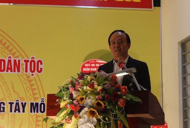 Lãnh đạo Thành phố dự Ngày hội Đại đoàn kết tại quận Nam Từ Liêm
