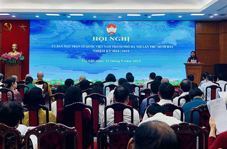 Kiện toàn 12 nhân sự tham gia Ủy ban MTTQ Việt Nam TP Hà Nội khóa XVI