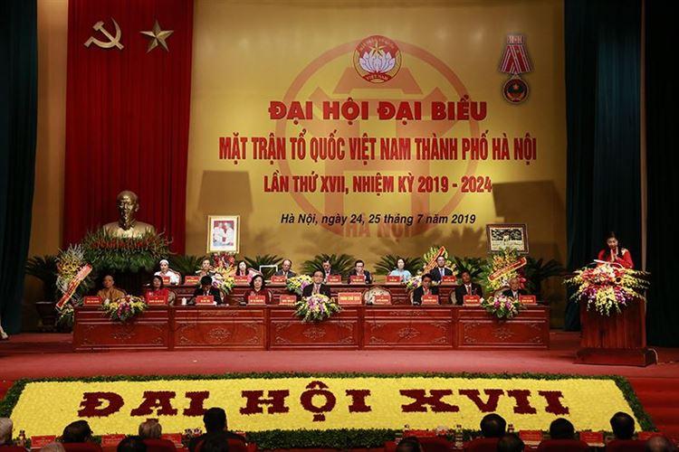 """Đại hội MTTQ Việt Nam TP lần thứ 17: """"Dân chủ - Đoàn kết - Đổi mới - Hiệu quả"""""""
